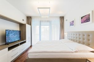 A bedroom is your privacy. Reigns of purity and simple design