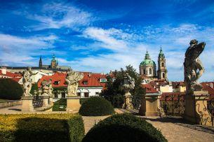 The splendour of the Vrtba Garden remains hidden from the crowds