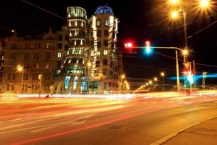Dancing House: far away from being a cultural centre to Havel's liking, but dear to young artists