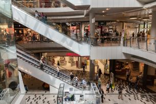 The largest shopping centre at Chodov is visited by 13 million people a year, and they have a reason