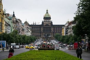 The throbbing heart of Prague – Wenceslas Square